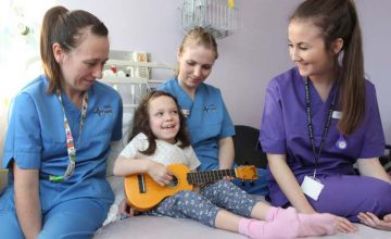 Jamie really enjoyed working as Musician in Residence at the Wrexham Maelor hospital's children's ward as part of the BCUHB Creative Well Arts in Health & Wellbeing Programme, made possible with the support of Arts Council of Wales and the Awyr Las Charity.